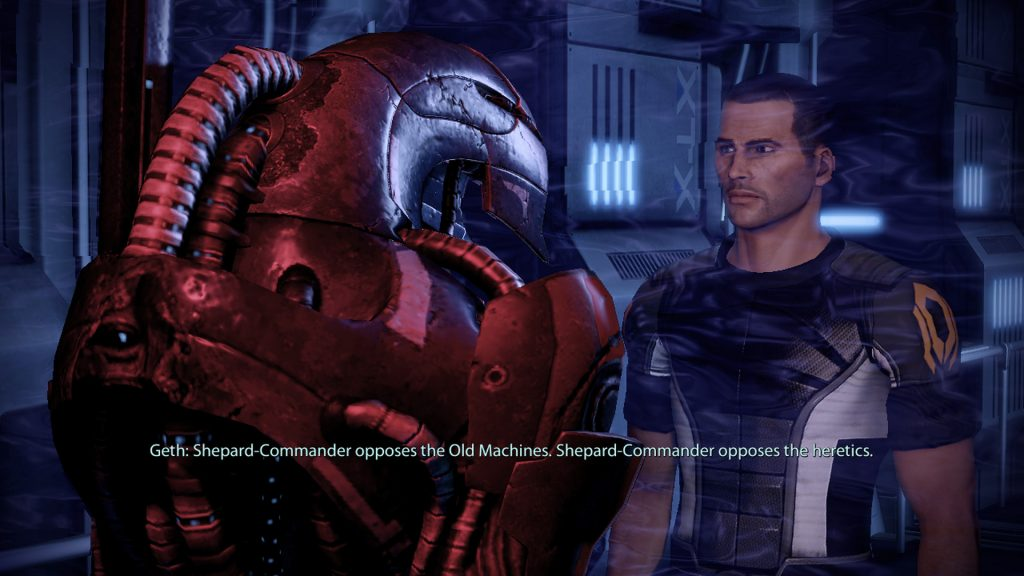 Pierwsze spotkanie z Legionem w Mass Effect 2